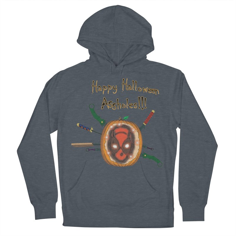 Jack-o-pool Men's French Terry Pullover Hoody by zhephskyre's Artist Shop