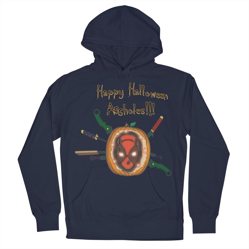 Jack-o-pool Men's French Terry Pullover Hoody by Zheph Skyre