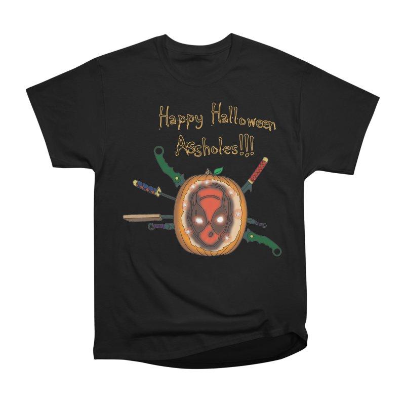 Jack-o-pool Men's Heavyweight T-Shirt by zhephskyre's Artist Shop