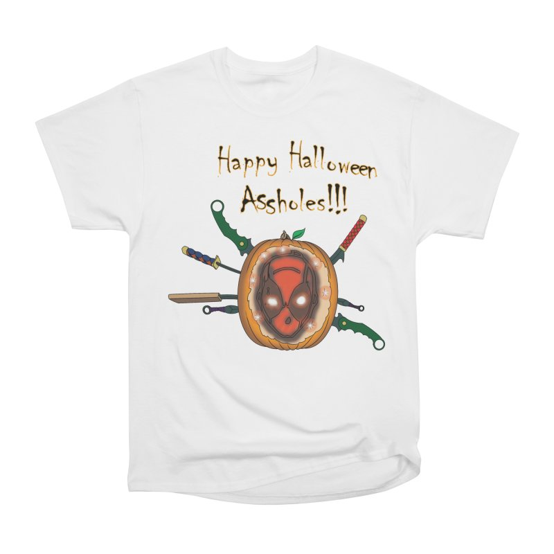 Jack-o-pool Women's Heavyweight Unisex T-Shirt by zhephskyre's Artist Shop