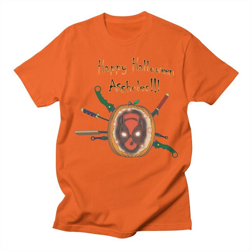 Jack-o-pool Men's Regular T-Shirt by zhephskyre's Artist Shop