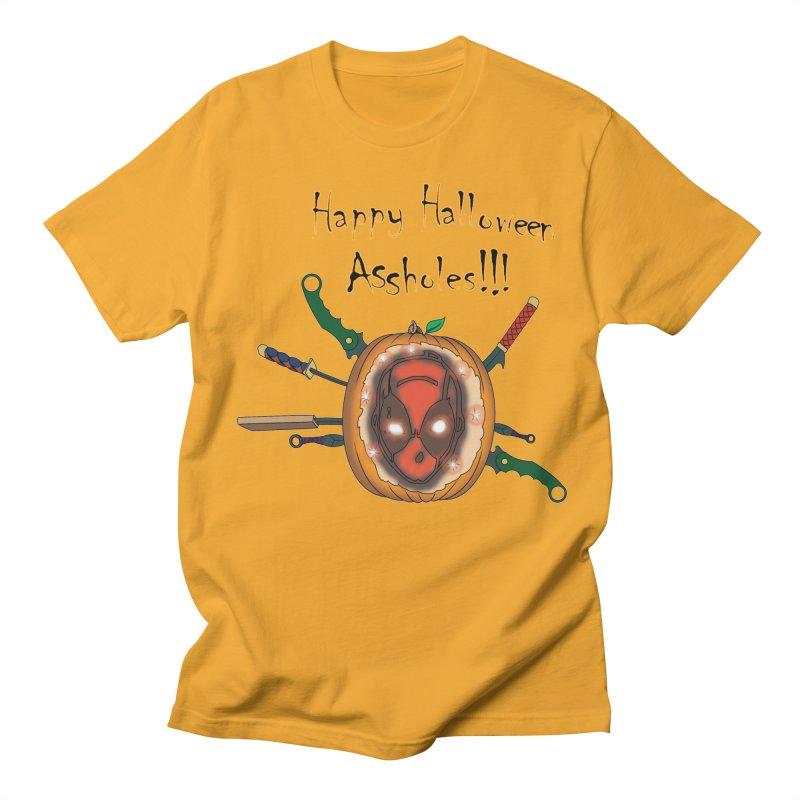 Jack-o-pool Men's Regular T-Shirt by Zheph Skyre