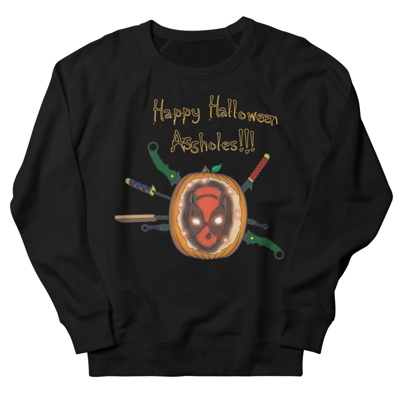 Jack-o-pool Women's French Terry Sweatshirt by Zheph Skyre