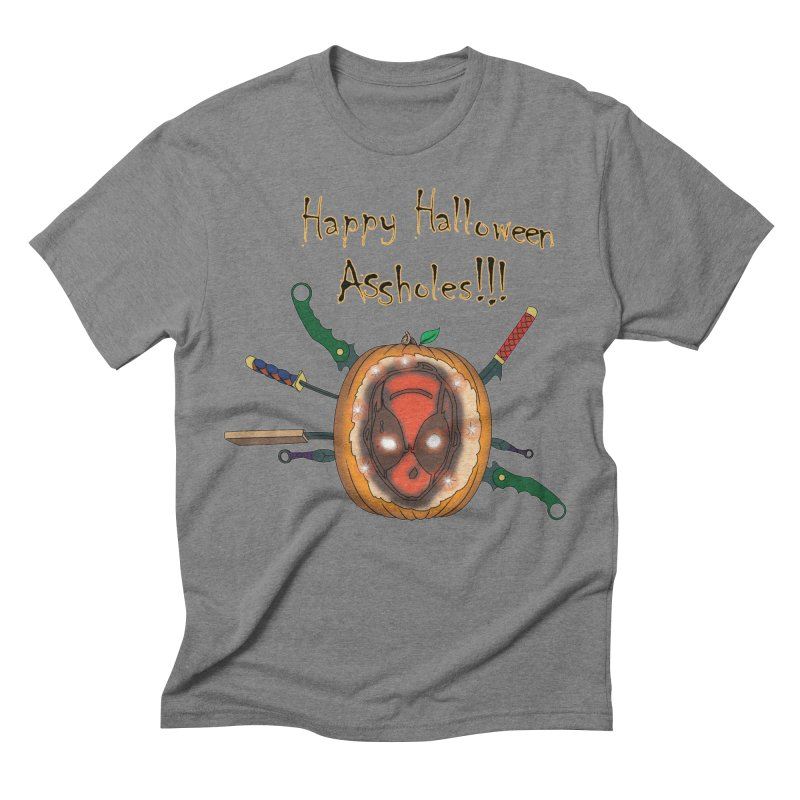 Jack-o-pool Men's Triblend T-Shirt by Zheph Skyre