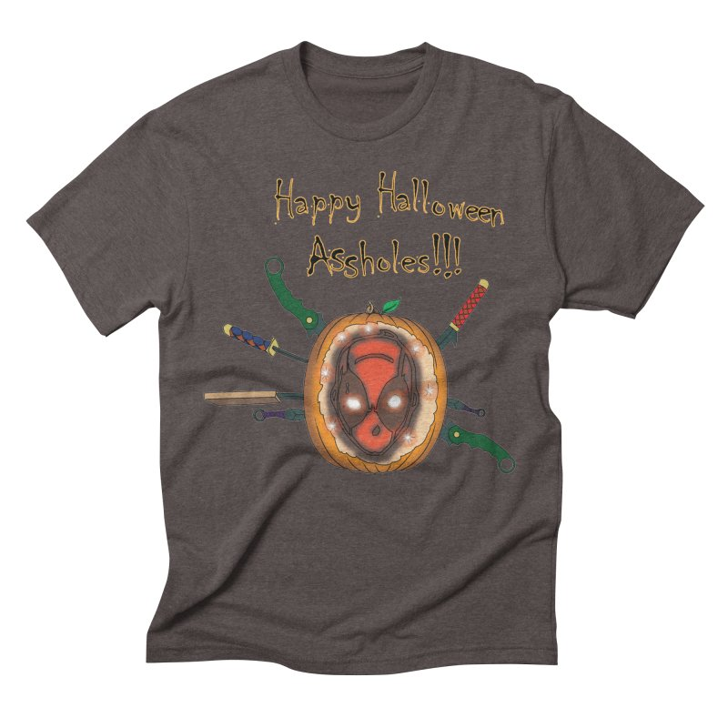 Jack-o-pool Men's Triblend T-Shirt by zhephskyre's Artist Shop
