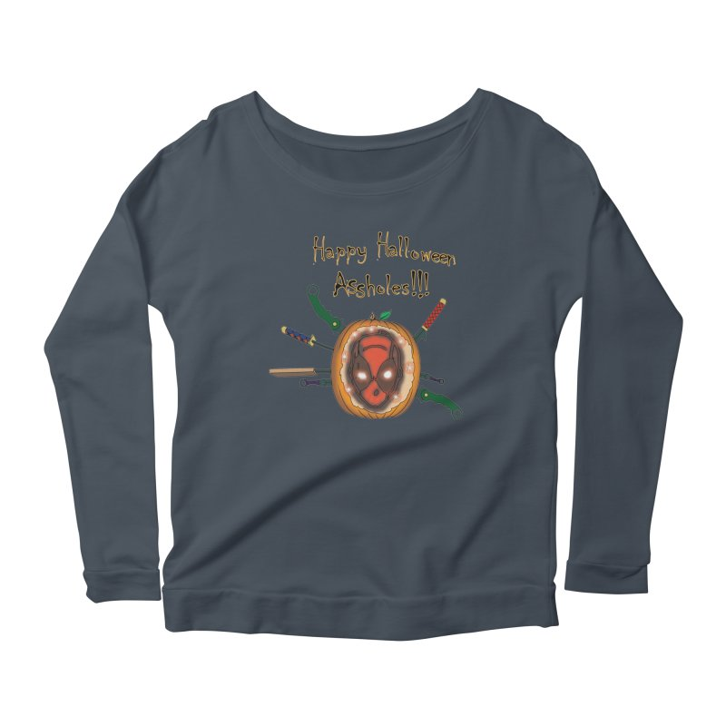 Jack-o-pool Women's Scoop Neck Longsleeve T-Shirt by zhephskyre's Artist Shop