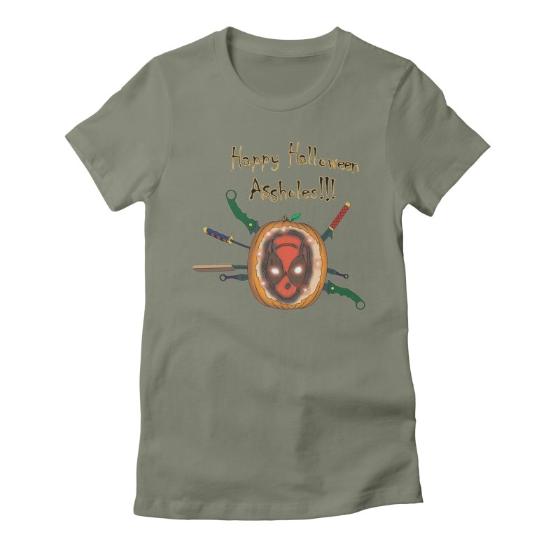 Jack-o-pool Women's Fitted T-Shirt by Zheph Skyre