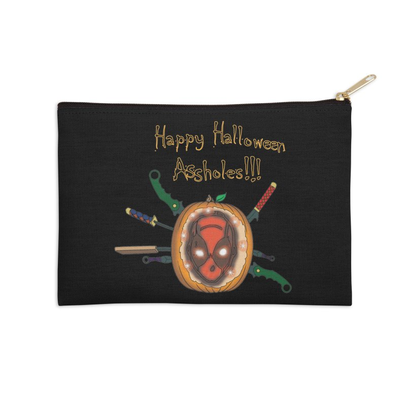 Jack-o-pool Accessories Zip Pouch by Zheph Skyre