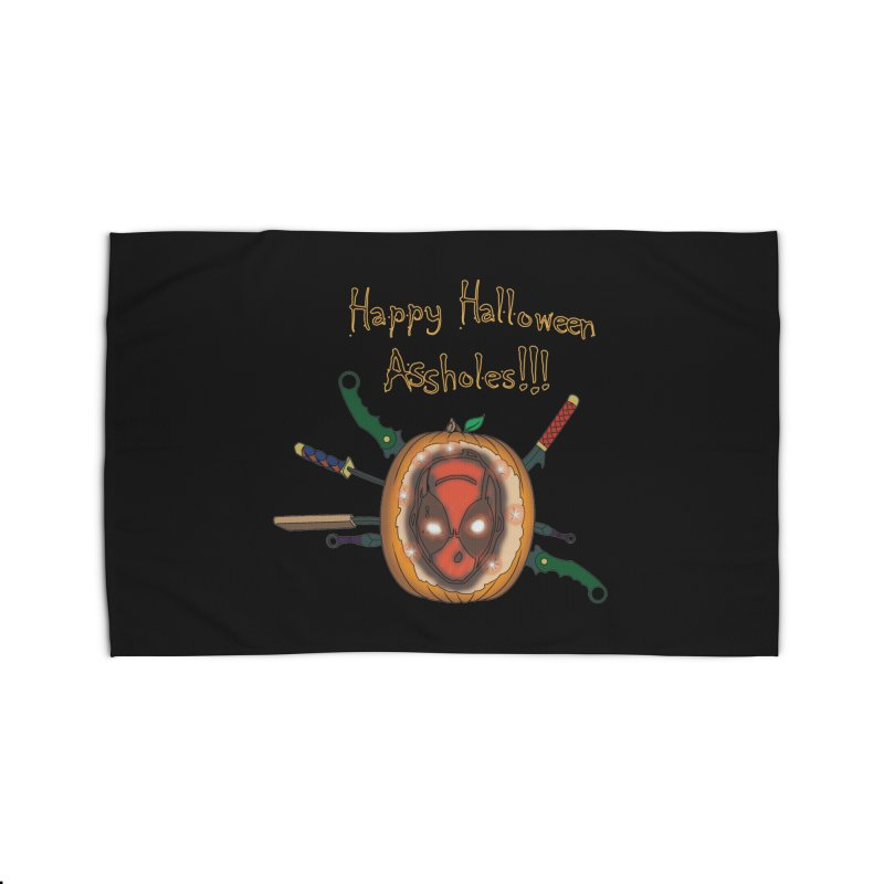 Jack-o-pool Home Rug by zhephskyre's Artist Shop