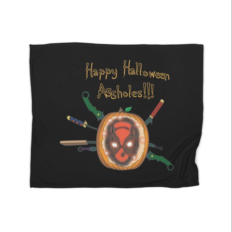 Jack-o-pool Home Blanket by zhephskyre's Artist Shop