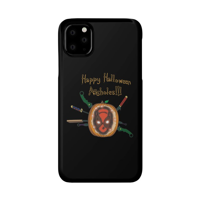 Jack-o-pool Accessories Phone Case by Zheph Skyre