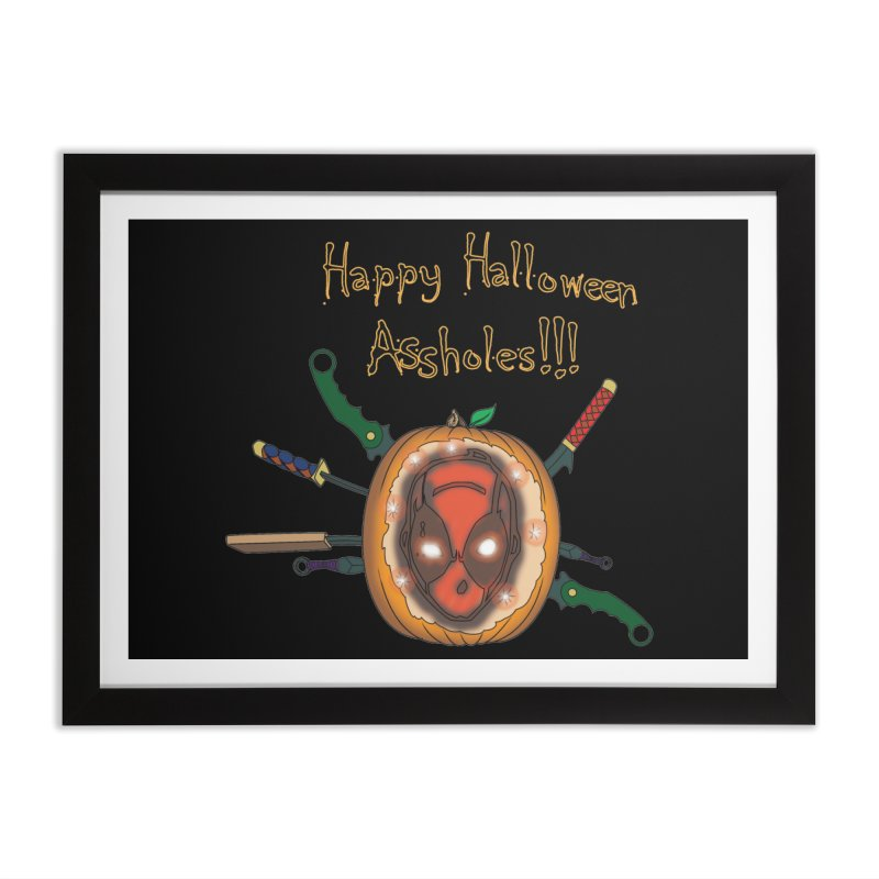 Jack-o-pool Home Framed Fine Art Print by Zheph Skyre