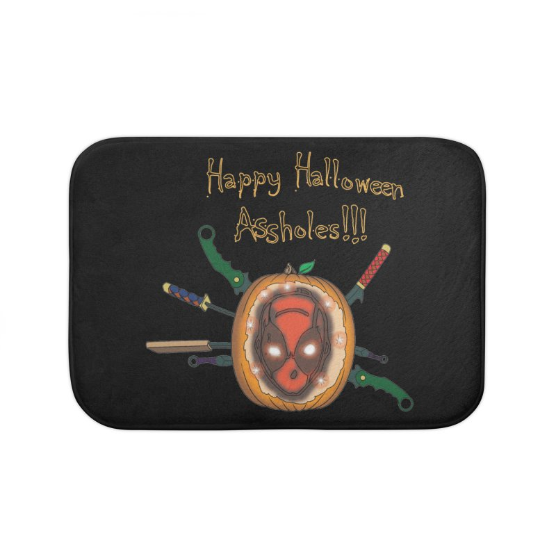 Jack-o-pool Home Bath Mat by Zheph Skyre