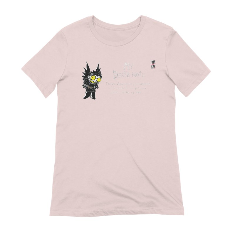 Deathnote for Cerci Women's Extra Soft T-Shirt by Zheph Skyre