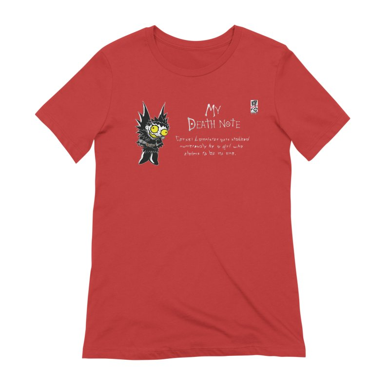 Deathnote for Cerci Women's Extra Soft T-Shirt by zhephskyre's Artist Shop
