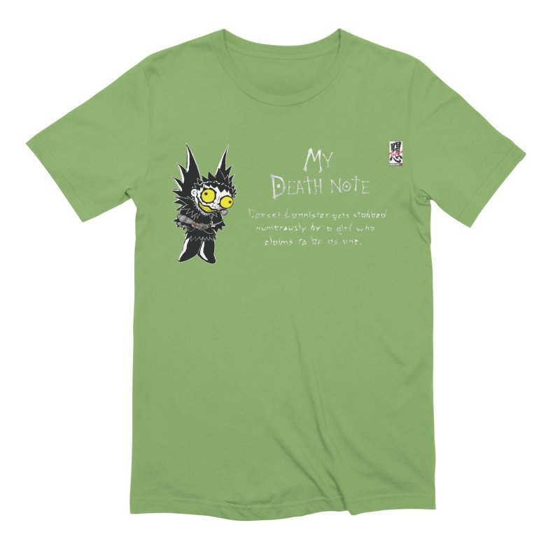 Deathnote for Cerci Men's Extra Soft T-Shirt by Zheph Skyre