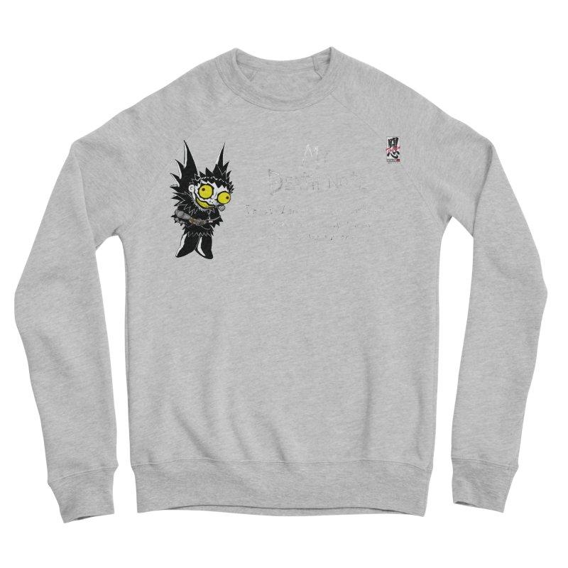 Deathnote for Cerci Men's Sponge Fleece Sweatshirt by Zheph Skyre