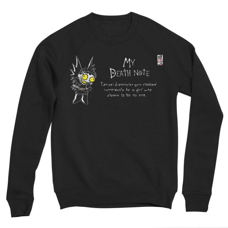Deathnote for Cerci Women's Sponge Fleece Sweatshirt by Zheph Skyre