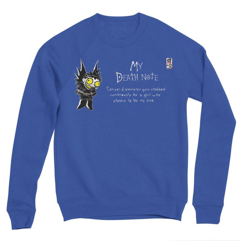 Deathnote for Cerci Women's Sponge Fleece Sweatshirt by Zheph Skyre