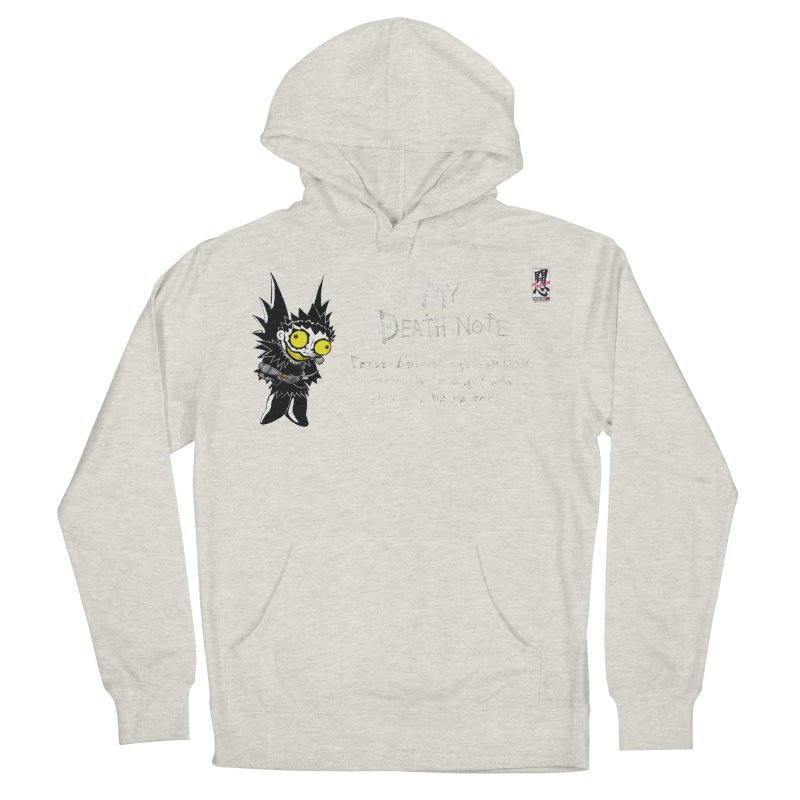 Deathnote for Cerci Women's French Terry Pullover Hoody by zhephskyre's Artist Shop