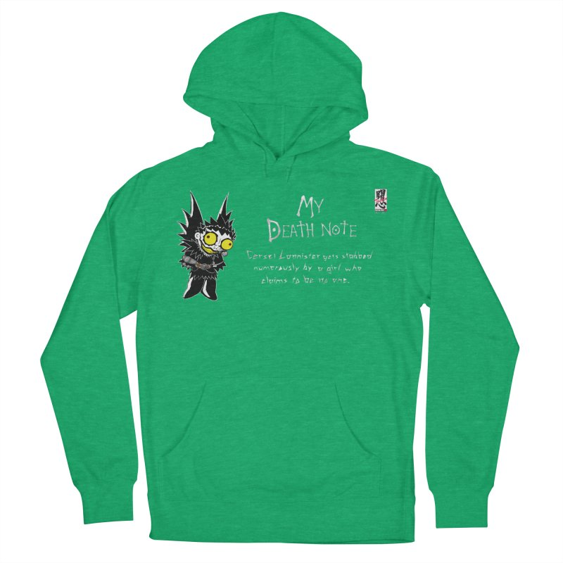 Deathnote for Cerci Men's French Terry Pullover Hoody by zhephskyre's Artist Shop