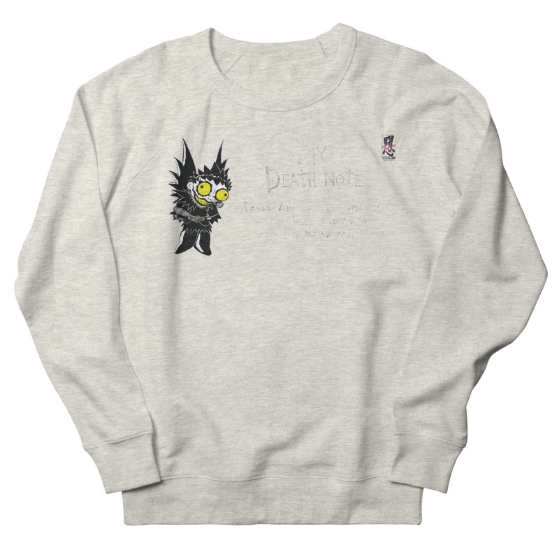 Deathnote for Cerci Men's French Terry Sweatshirt by Zheph Skyre