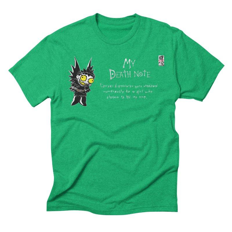 Deathnote for Cerci Men's Triblend T-Shirt by zhephskyre's Artist Shop