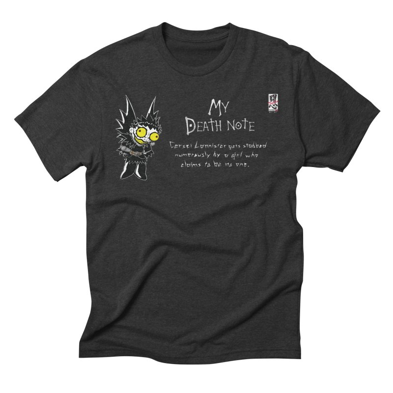 Deathnote for Cerci Men's Triblend T-Shirt by Zheph Skyre