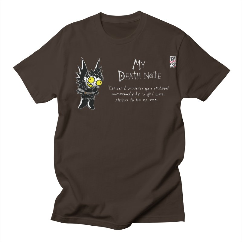 Deathnote for Cerci Men's T-Shirt by Zheph Skyre