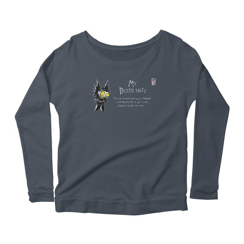 Deathnote for Cerci Women's Scoop Neck Longsleeve T-Shirt by zhephskyre's Artist Shop