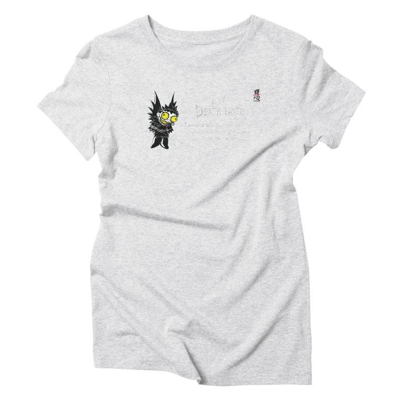 Deathnote for Cerci Women's Triblend T-Shirt by zhephskyre's Artist Shop