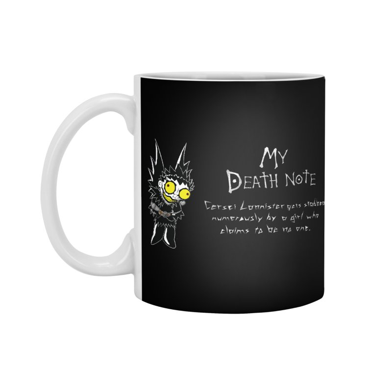 Deathnote for Cerci Accessories Standard Mug by Zheph Skyre