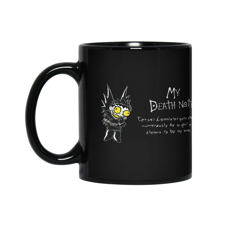 Deathnote for Cerci Accessories Mug by Zheph Skyre
