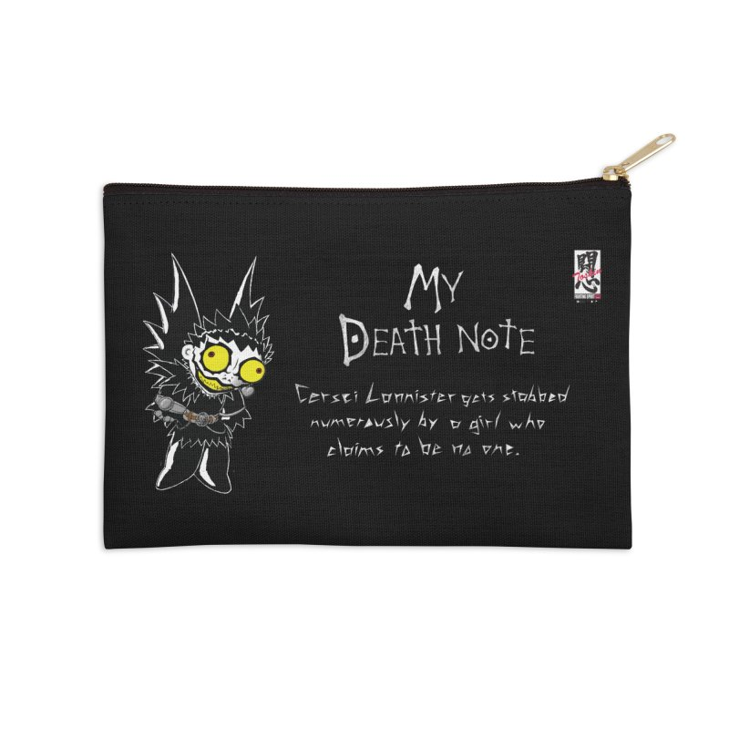 Deathnote for Cerci Accessories Zip Pouch by Zheph Skyre