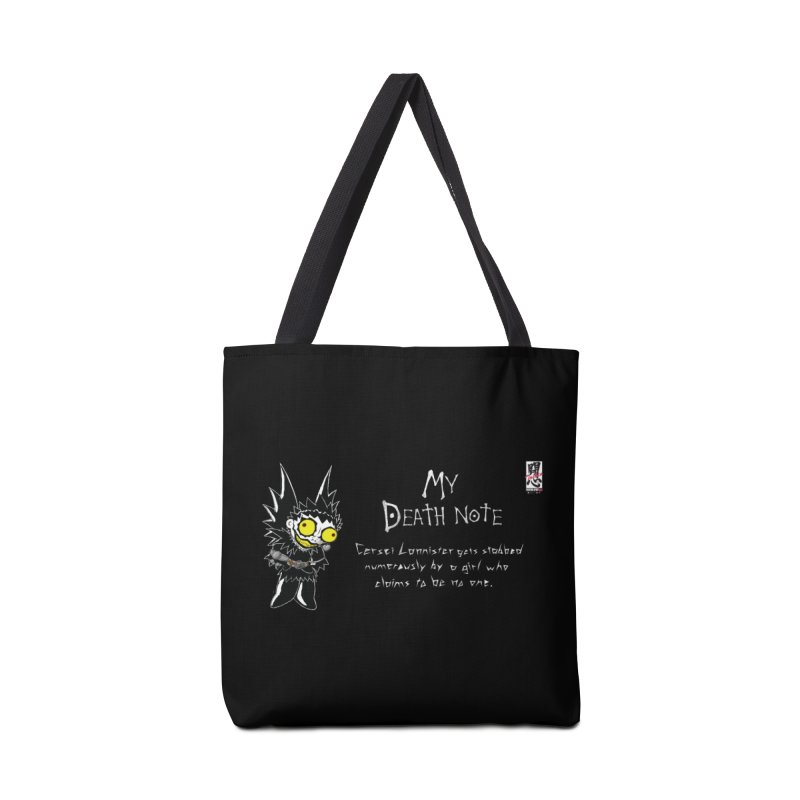 Deathnote for Cerci Accessories Tote Bag Bag by Zheph Skyre