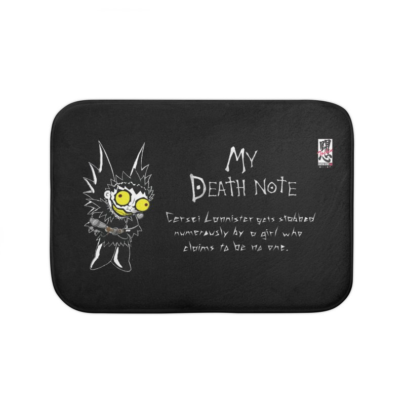 Deathnote for Cerci Home Bath Mat by Zheph Skyre