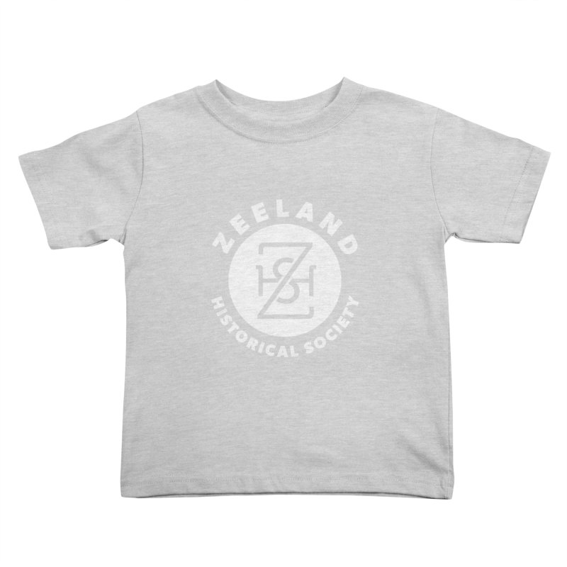 Zeeland Circle Monogram (solid) Kids Toddler T-Shirt by Zeeland Historical Society's Online Store