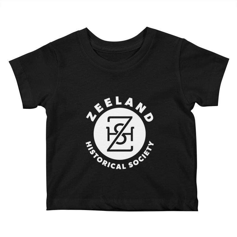 Zeeland Circle Monogram (solid) Kids Baby T-Shirt by Zeeland Historical Society's Online Store