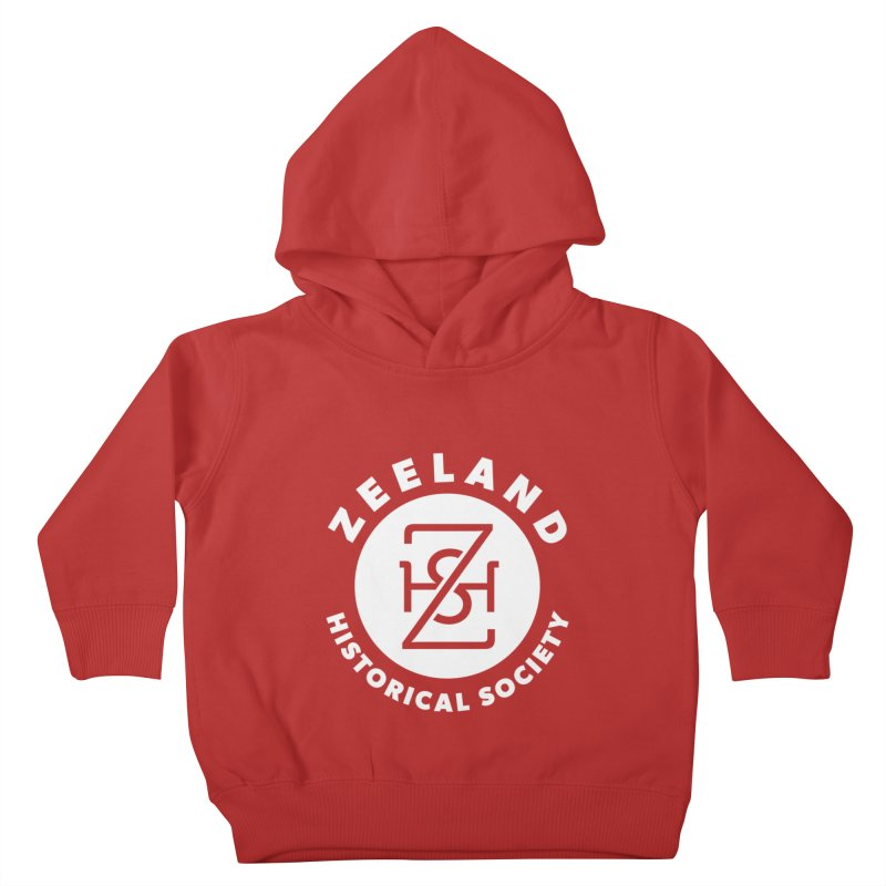 Zeeland Circle Monogram (solid) Kids Toddler Pullover Hoody by Zeeland Historical Society's Online Store