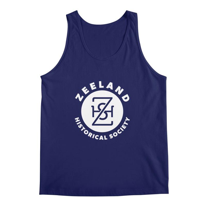 Zeeland Circle Monogram (solid) Men's Regular Tank by Zeeland Historical Society's Online Store