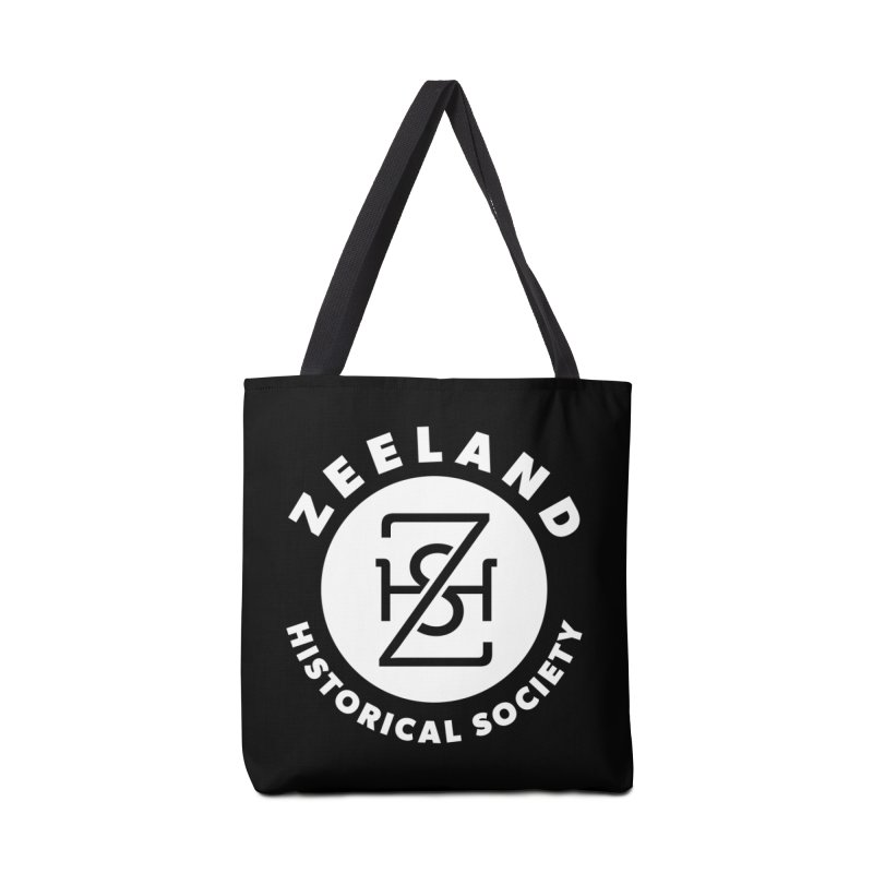 Zeeland Circle Monogram (solid) Accessories Bag by Zeeland Historical Society's Online Store