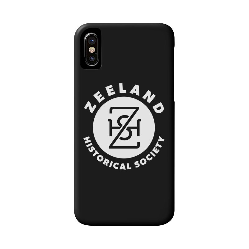 Zeeland Circle Monogram (solid) Accessories Phone Case by Zeeland Historical Society's Online Store
