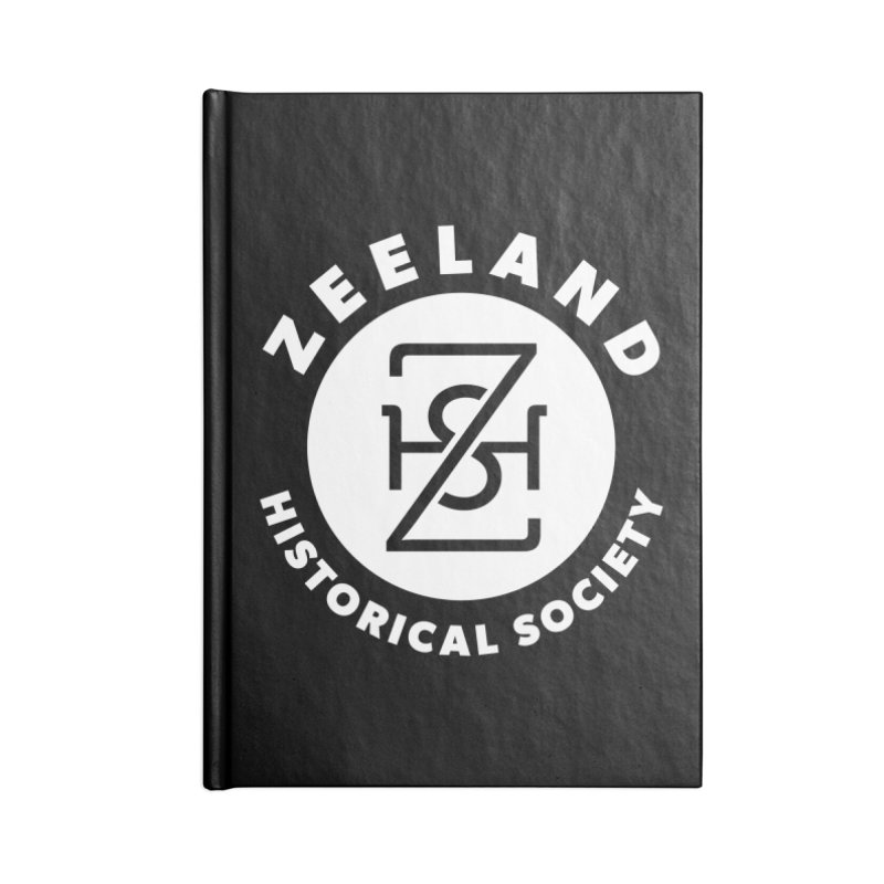 Zeeland Circle Monogram (solid) Accessories Blank Journal Notebook by Zeeland Historical Society's Online Store