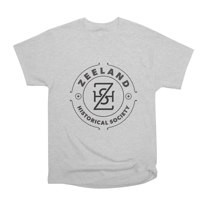 ZHS Circle Monogram Women's Heavyweight Unisex T-Shirt by Zeeland Historical Society's Online Store