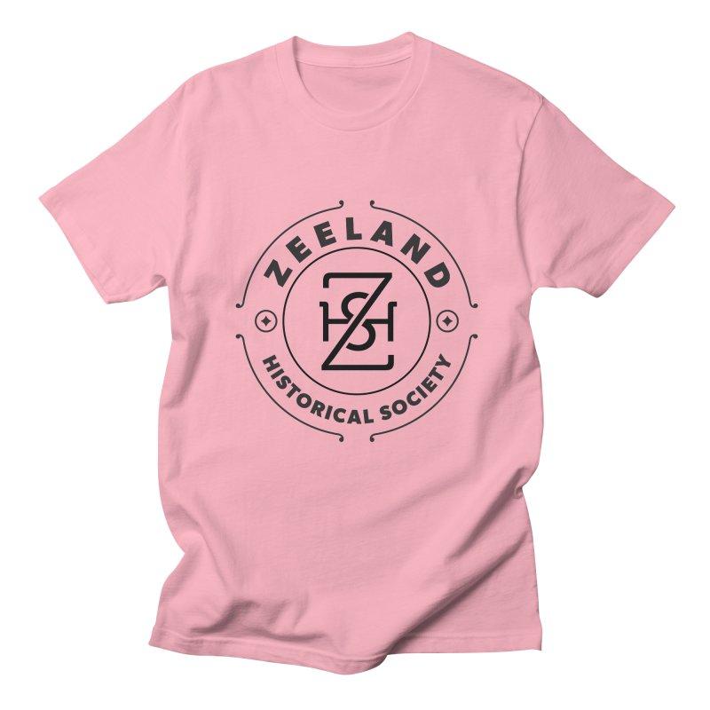 ZHS Circle Monogram Women's Regular Unisex T-Shirt by Zeeland Historical Society's Online Store