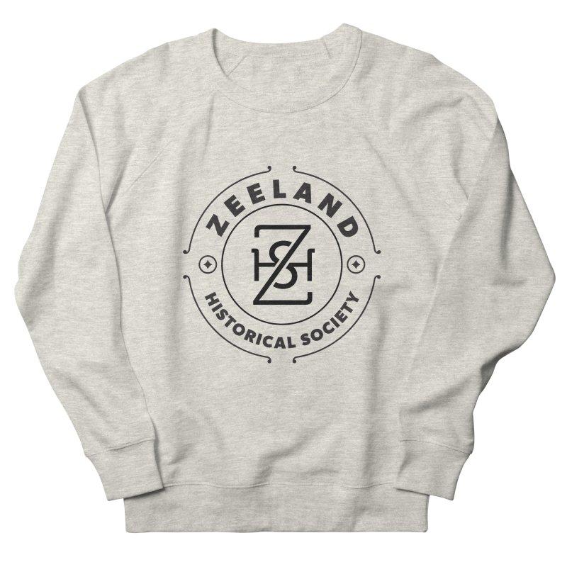 ZHS Circle Monogram Women's French Terry Sweatshirt by Zeeland Historical Society's Online Store