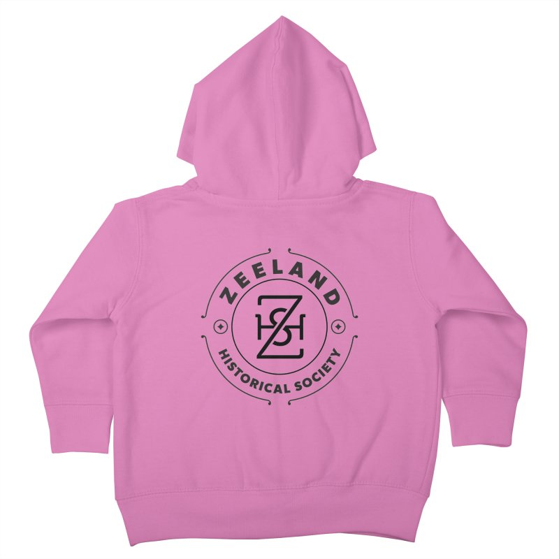 ZHS Circle Monogram Kids Toddler Zip-Up Hoody by Zeeland Historical Society's Online Store