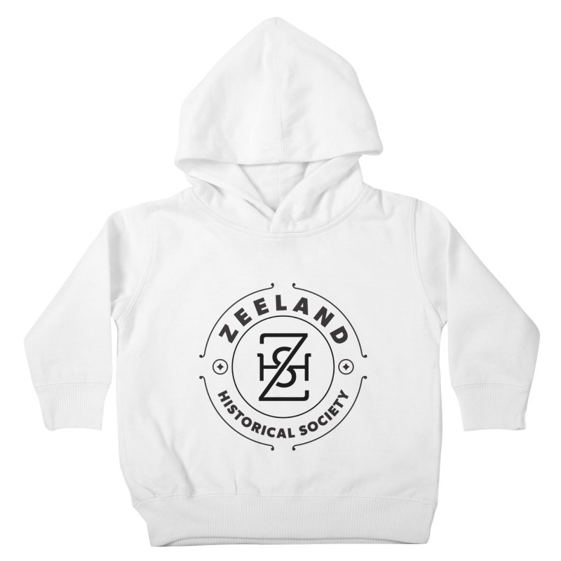 ZHS Circle Monogram Kids Toddler Pullover Hoody by Zeeland Historical Society's Online Store