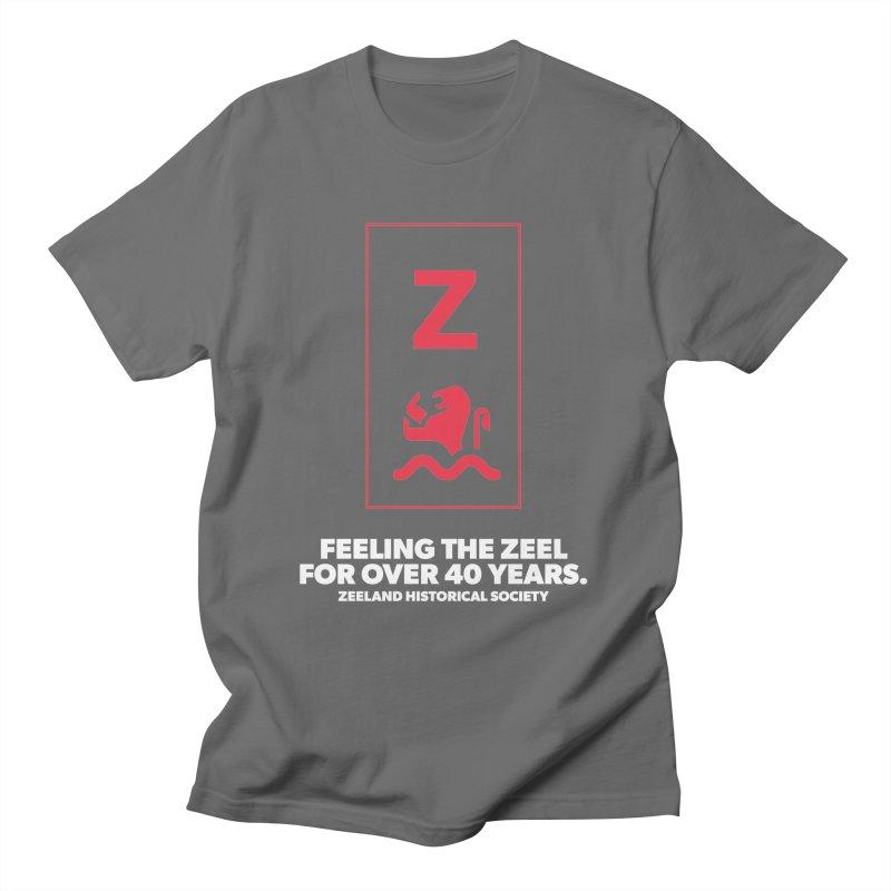 Feeling the Zeel (reversed) Men's T-Shirt by Zeeland Historical Society's Online Store