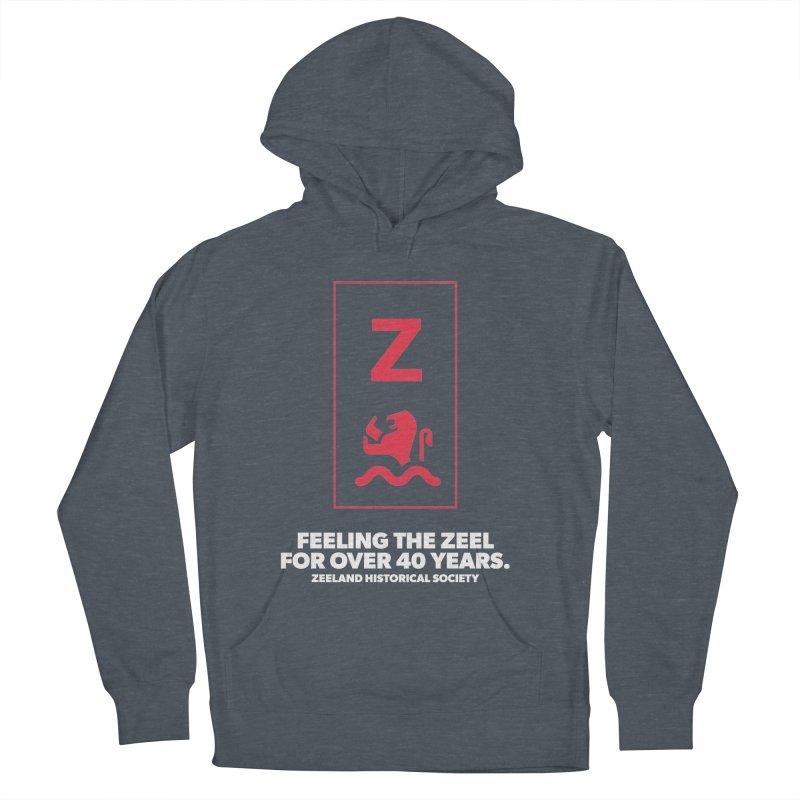 Feeling the Zeel (reversed) Women's French Terry Pullover Hoody by Zeeland Historical Society's Online Store